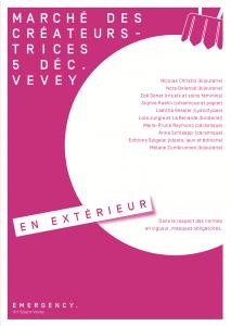 Marché de Noël Vevey 2020
